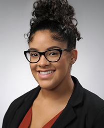 Photo: OTHC scholar Tatiana Hernández-Mitchell '20